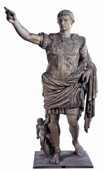 augusto statua intera